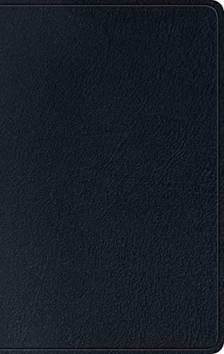 - The Holy Bible: English Standard Version, Single Column Thinline Genuine Leather Black