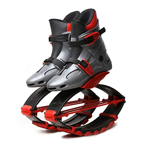 - FBEST Kangoo Jumps Children's Power Shoes Special Edition Anti-Gravity Jumping Boots,Red,M