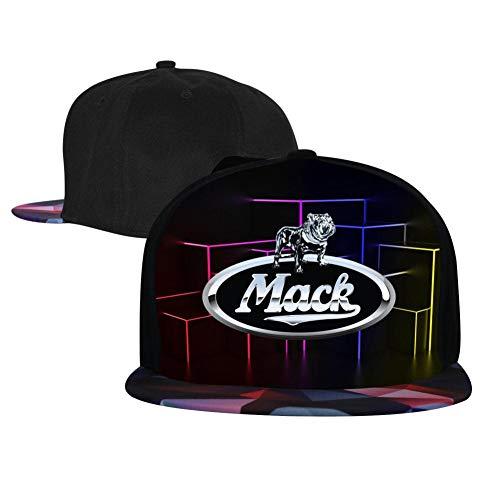 Yshoqq M-a-c-k Logo Baseball Cap Printed Adjustable Cotton Trucker Hat Red -