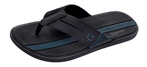 Cartago Cartagena Chanclas/Sandalias Hombre Black Zapatos de moda en línea Obtenga el mejor descuento de venta caliente-Descuento más grande