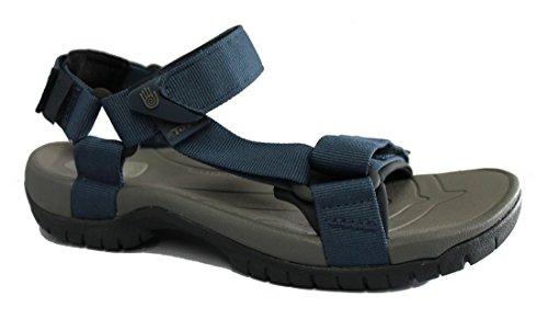 Teva tanza sandalia para hombre trekking insignia - Blue Azul