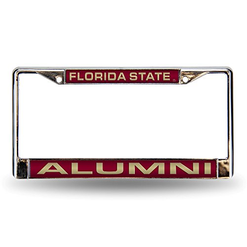 (Rico Industries NCAA Chrome License Plate Frame, Florida State Seminoles)