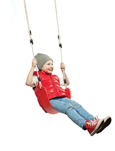 (Red) - Summersdream Soft Seat Red Child Swing