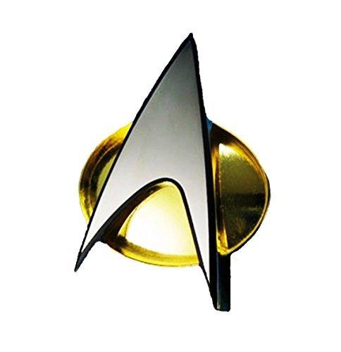 Communicator Badge (Star Trek The Next Generation Series COMMUNICATOR Magnetic Metal Replica BADGE)