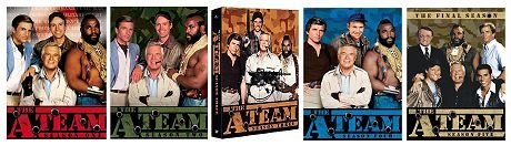 The A Team Complete Series Seasons 1 5