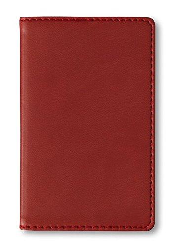 Adressbuch Mini Tucson Red - Notizbuch / Taschenplaner rot (6,5 x 10,5) - 112 Seiten