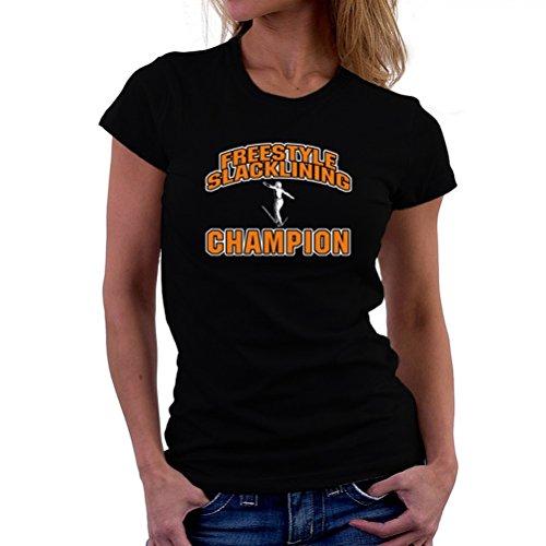 Freestyle Slacklining champion T-Shirt