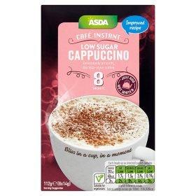 Amazoncom Asda Cafe Instant Low Sugar Cappuccino 8