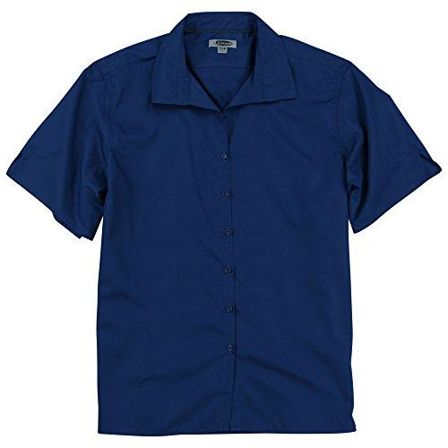 Edwards Women's Short Sleeve Blouse (Royal, XXX-Large) (Edwards Short Sleeve Blouse)