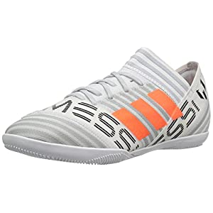 adidas Originals Boys' Nemeziz Messi Tango 17.3 in J Soccer Shoe, White/Solar Orange/Black, 5.5 Medium US Little Kid