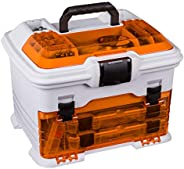 Flambeau Tackle T4 Pro Multi-Loader Tackle Box (Gold/Red, 10.7x13.7x12-Inch)