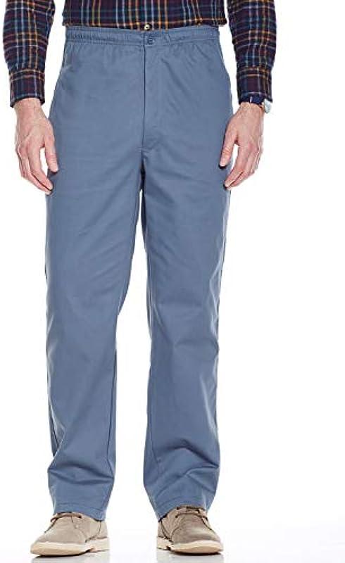 Chums elastyczne męskie spodnie do rugby z bawełny ze ściągaczem - niebieski: Odzież