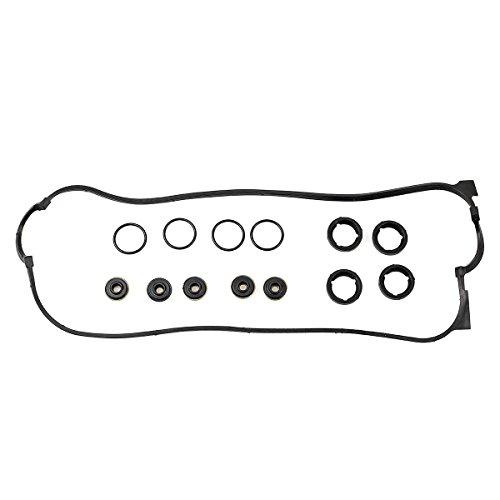 Vincos Engine Valve Cover Gasket Set w/Spark Plug Tube Seals