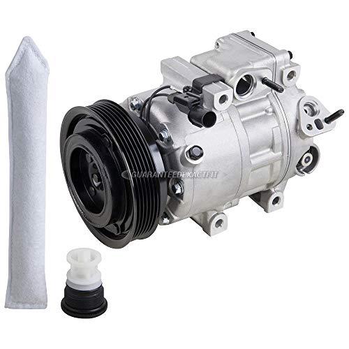 Hyundai A/c Compressor - OEM AC Compressor w/A/C Drier For Hyundai Sonata Santa Fe Kia Optima Amanti - BuyAutoParts 60-88226R4 New