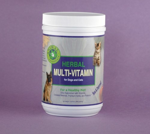 Animal Essentials Herbal Multi-Vitamin for Dogs and Cats, 300 Grams, My Pet Supplies