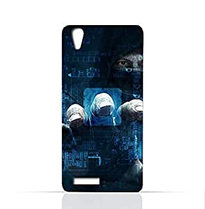 Lenovo A3900 TPU Silicone Case With TPU Silicone Case With Dangerous Hacker Design