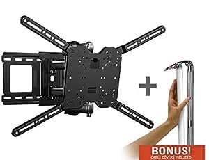 Amazon Com Sanus Vuepoint F180d Full Motion Tv Wall Mount