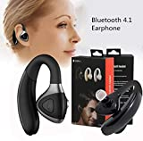 Men Women Stereo Headphone Bluetooth Earphone - Gbell Wireless Bluetooth Headphone 4.1Headset Sport Stereo Earphone for iPhone | IPad | iPod Touch | Samsung | HTC | Sony and So On,Unisex (Black)