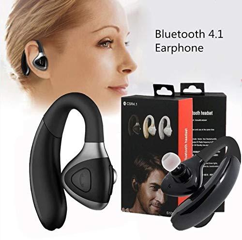 Gbell ワイヤレス Bluetooth イヤホン メンズ レディース ステレオ ヘッドフォン 4.1ヘッドセット スポーツ ステレオ イヤホン iPhone iPad iPod Touch Samsung HTC Sonyなど ユニセックス M ブラック GBDD00054249656 B07JDWH62G  ブラック