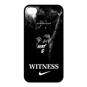 Diystore Miami Heat star LeBron James Iphone 4/4s Hard Cover Case
