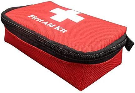 Papertong Borsa di Sopravvivenza di Emergenza da Viaggio Mini Kit di Pronto Soccorso Portatile per la casa e lesterno