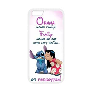 Custom High Quality WUCHAOGUI Phone case Lilo & Stitch - Ohana Means Family Protective Case For Apple Iphone 6 Plus 5.5 inch screen Cases - Case-7