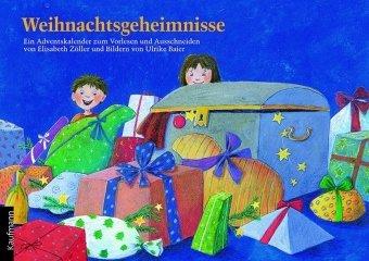 Weihnachtsgeheimnisse: Ein Adventskalender zum Vorlesen und Basteln mit einem Poster