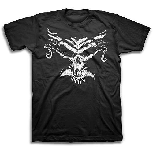 (WWE Mens Brock Lesnar Shirt - The Conqueror Tee - World Wrestling Champion Shirt (Black, L))