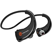 Bluetooth Headphones, TaoTronics Wireless In-Ear Earbuds with Microphone, Nano Coating Waterproof Sports Earphones for Running and Exercise (aptX Stereo,8 Hours Play Time,CVC 6.0 Noise Cancelling Mic)
