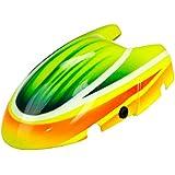 XCanopy Airbrush Fiberglass Green Racing Canopy - BLADE NANO QX