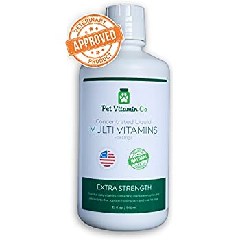 Amazon Com Liquid Dog Vitamins Supplement Spectrin 32