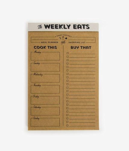 Elum Designs Weekly Eats List Pad - Elum Designs