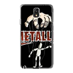 Best Hard Phone Cover For Samsung Galaxy Note3 (nSM10013iHkh) Customized High-definition Metallica Series