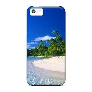 WiLZHfI6247VSpDB Tpu Case Skin Protector For Iphone 5c Beach With Nice Appearance