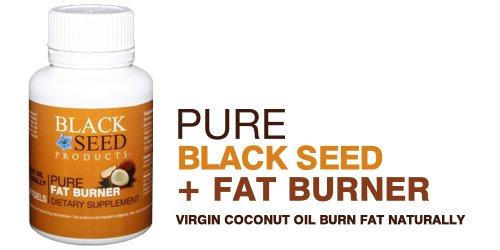 photo Wallpaper of Black Seed-Black Seed Plus Pure Virgin Coconut Oil (Fat Burner)-