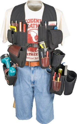Occidental Leather Cordless Drill - Occidental Leather 2538 Builders' Vest Drill Package