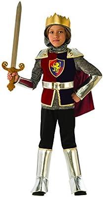 Rubies - Disfraz de caballero medieval para niño, talla 3-4 años ...