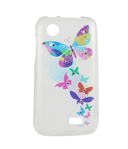 best cheap 1be8b d6a58 Exclusive Soft Silicon Back Case Cover For Lenovo A369i - Multicolor ...