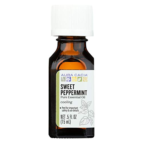 Price comparison product image Sweet Peppermint Essential Oil Aura Cacia 0.5 fl oz Oil