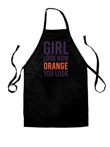 Look How Orange You Look - Unisex Fit Apron - Black - One Size
