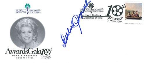 Signed Reynolds  Debbie Awards Gala 10Th Anniversary 1999 Film Festival Envelope Autographed