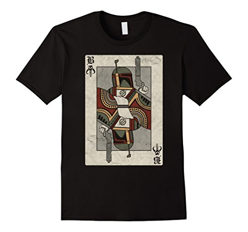 mens-star-wars-boba-fett-playing-card-graphic-t-shirt-xl-black