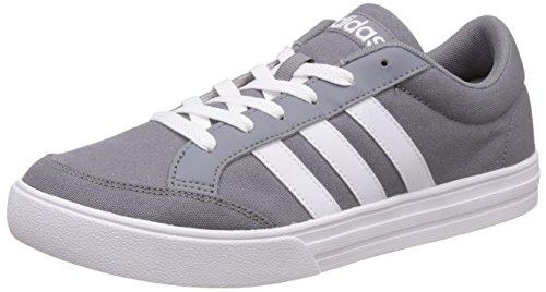 adidas Vs Set, Sneaker a Collo Basso Uomo Grigio (Grey/Ftwr White/Ftwr White)