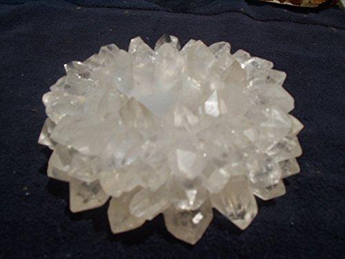 Gemstone Candle Holders - Gemstone Candle Holder 4 Inch Crystal Clear Quartz Tea Light