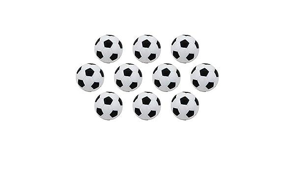 ZZM Juego de futbolín de futbolín futbolín Juego con pies Bolas ...