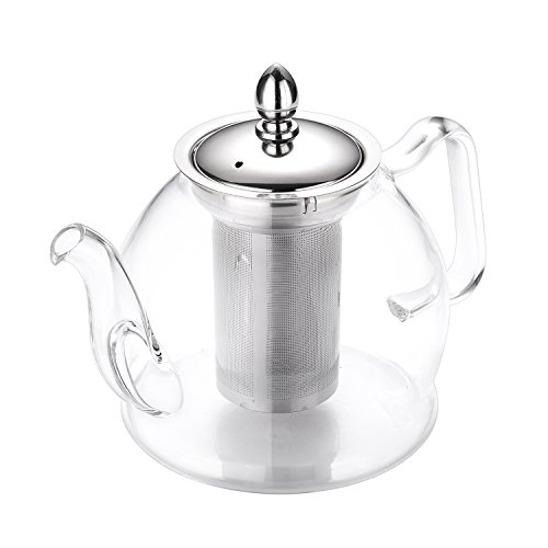 Review Hiware 1000ml Glass Teapot