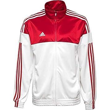 adidas jacke weiß rot