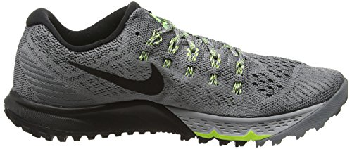 Nike Men's Air Zoom Terra Kiger 3 Running Shoes, Blue Grey (Grey (Cool Grey/Black-wolf Grey-volt))