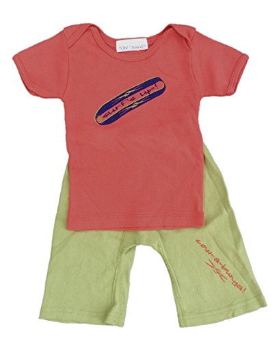 Toni Tierney Baby Boys' Surf Tee and Pant Set 18 ()