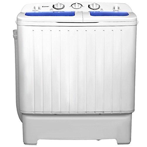 11 lbs Compact Twin Tub Washing Machine Washer Spinner Home Small Us 11lbs Capacity Bathroom CHOOSEandBUY -